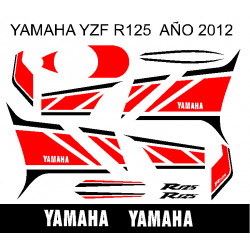 KIT YAMAHA YZF R125 2012