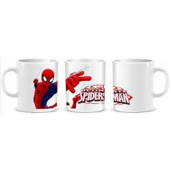 TAZA SPIDERMAN ULTIMATE