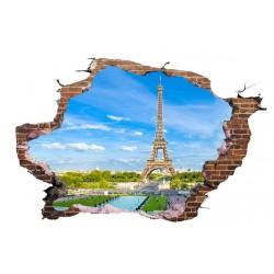 VINILO PARED ROTA PARIS